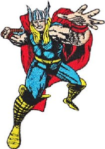 Marvel Thor Pose Patch