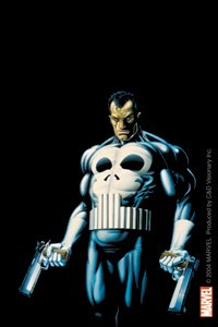 Marvel Comic Punisher Sticker