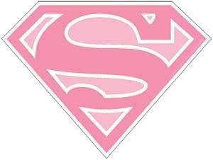 DC Supergirl Logo Sticker