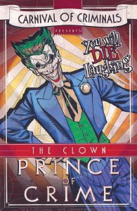 DC Prince of Crime Sticker