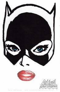 DC Comics Batgirl Close Face Sticker