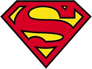 DC Superman Logo Sticker
