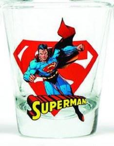 DC Superman Shot Glass