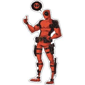 Skottie Deadpool Sticker