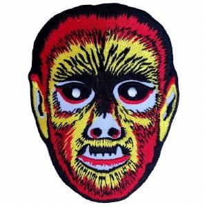 Wolfman Mask Patch