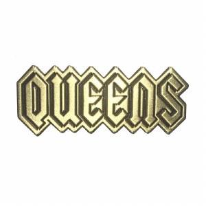 Queens Gold Pin