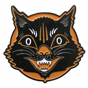 Halloween Cat Pin