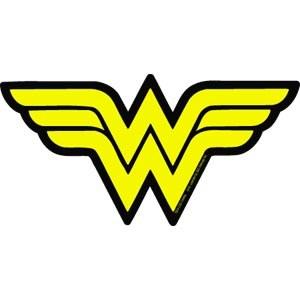 DC Wonder Woman Symbol Sticker