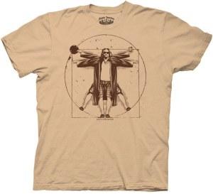 Lebowski Vitruvian T-Shirt