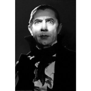 Dracula Bela Lugosi B&W Poster