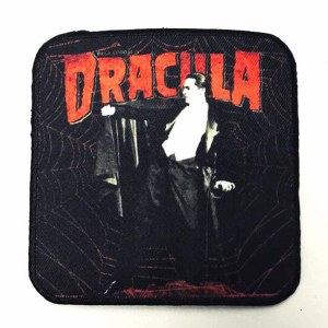 Dracula Webs Bella Lugosi Patch