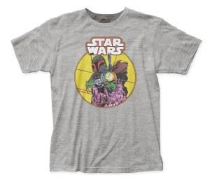 Boba Fett comic style T-shirt