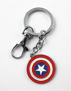 Captain America Retro Keychain