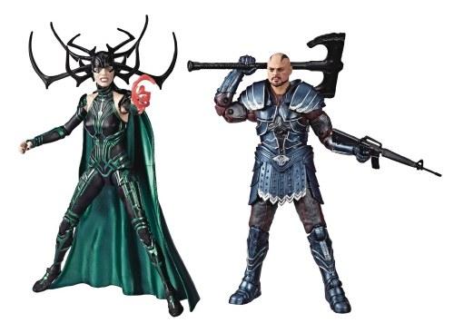 "Marvel Studios Legends Series Thor Ragnarok with Skurge /& Hela 6/"" Scale 2 Pack"
