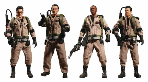 One 12 Ghostbusters 1984 Movie Action Figure 4 Pack Forbidden Planet