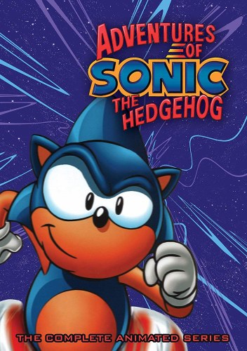 Adventures Of Sonic The Hedgehog The Complete Animated Series Dvd Forbidden Planet