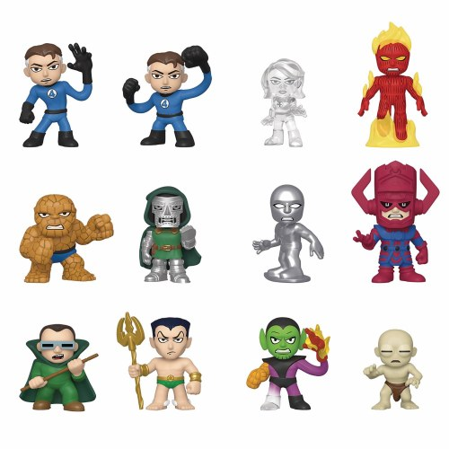 Marvel Heroes Blind Box Collectible Figure Figurine Stickers