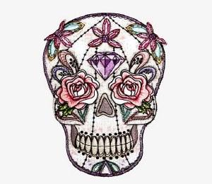 DSX Pastel Skull Patch