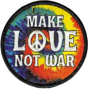 Make Love Not War Patch
