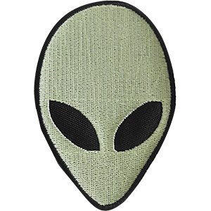 Alien Glow in the Dark Patch