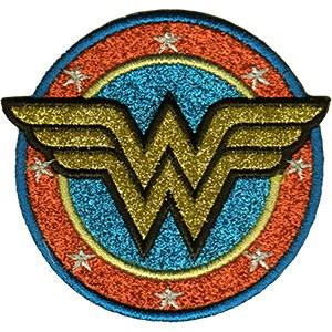 WW Glitter Logo Path Blue Outline