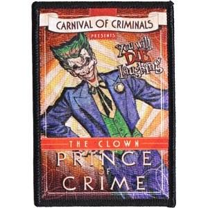 DC Comics Joker Prince of Crime Patch