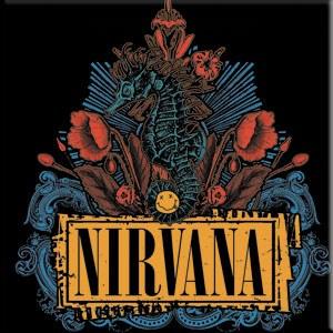 Nirvana SeaHorse Sticker