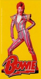 David Bowie Pose Sticker