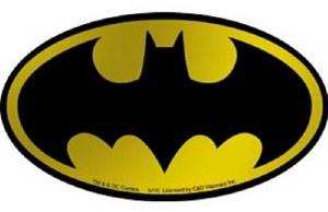 Batman Gold Metallic Sticker