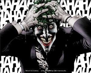 DC Comics Batman Joker Killing Joke Hahaha Sticker