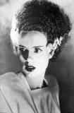 Bride of Frankenstein B/W Portrait Poster