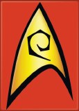 Star Trek Engineering Insignia Magnet
