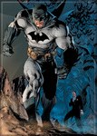 Batman and Alfred by Jim Lee Magnet