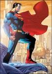 DC Superman Metropolis Magnet