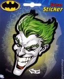 Joker Head Sticker