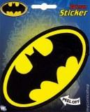Batman Logo Oval Sticker