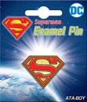 DC Superman Logo Enamel Pin