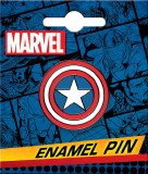 Captain America Shield Enamel Pin