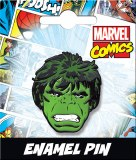 Hulk Head Enamel Pin