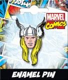 Thor Head Enamel Pin