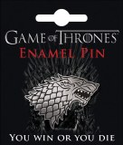 Game of Thrones Stark Direwolf Sigil Enamel pin