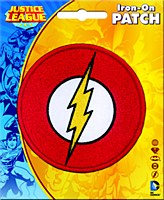DC Flash Logo Patch