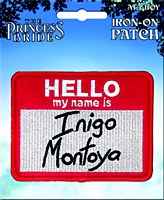 Princess Bride Inigo Montoya Patch