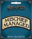 Harry Potter Mischief Managed Patch