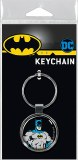 Ata-Boy DC Batman on Black Keychain