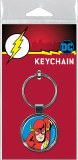 DC The Flash on Blue Keychain