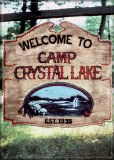 Friday the 13th Welcome to Camp Crystal Lake Magnet