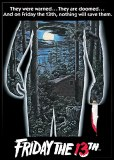 Friday the 13th Movie Poster Magnet