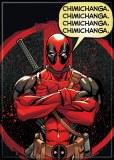 Deadpool Chimichanga Magnet