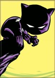 Black Panther S Young Black Panther Magnet